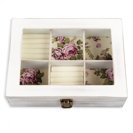 Andrew  Family 6 COMPARTMENT JEWELRY ORGANZIER
